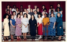 Faculty & Staff 1986