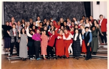 1998 Faculty being silly