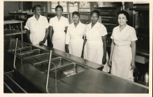 1962 Cafeteria Ladies