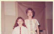 Mrs. Delk and Marylyn 1963