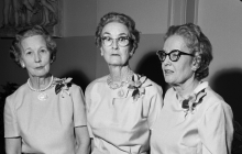Mrs. Howard Smith, Mrs. Duflot, Mrs. Allston.