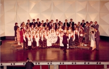 1984 March 24 Norwegian Guests from HSPVA