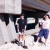 1996 Digging Sand for Kearne Art Mosaic Project