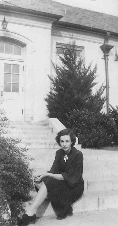 Miss Loggins in 1936